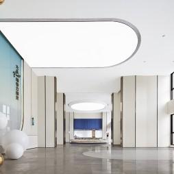 大华朗香公园里售楼处大堂设计