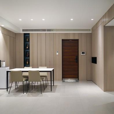 极简质感空间,富有理性又舒适感十足