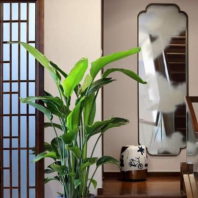 心中自在山水—会展誉景新中式风格别墅装修_1600223260_4263250