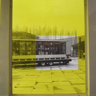 一百年 , 一百扇窗. 公共艺术装置展_1600256572_4264360