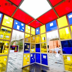 一百年 , 一百扇窗. 公共艺术装置展_1600256573_4264357