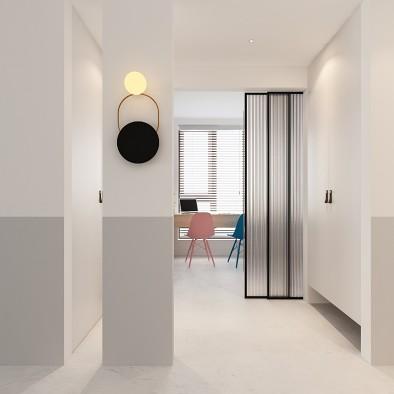 借景入室丨门厅变窄,视觉更加通透