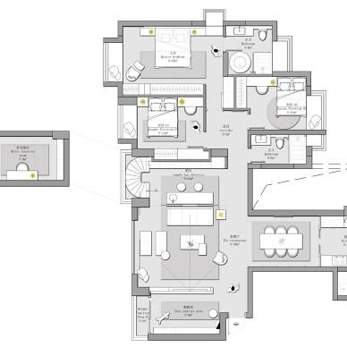 170m²老房改造,打造不一样的住宅感受_4283320