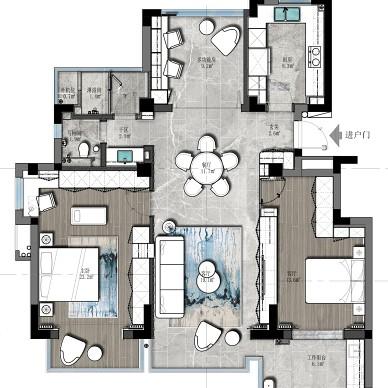 打造随性自由婚房,卫生间这样设计太实用了_1602581719_4285442