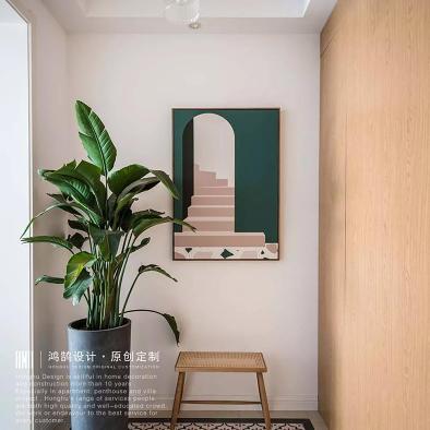 鸿鹄别墅设计|220m²北欧+新中式风格