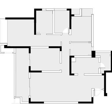 KD室内设计 翠湖天地 色彩碰撞_1602829732