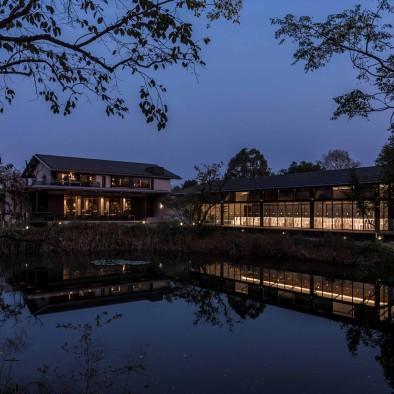 杭州木守西溪-光影糅合中的自然野趣
