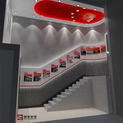 济南党建展厅装修设计公司_1614655279_4388127
