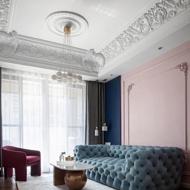 法式轻奢风,脏粉色+藏青色是yyds!_1619254952_4429283