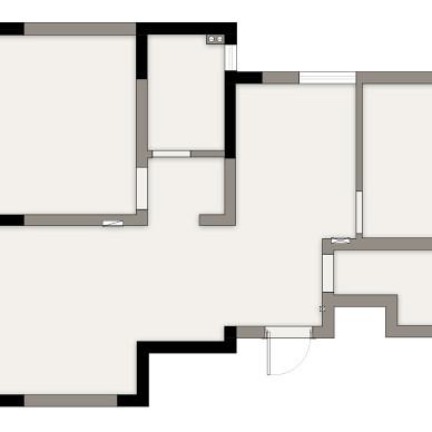 既白 | 原木+大白墙,极度舒适的视觉空_1619581456_4432242