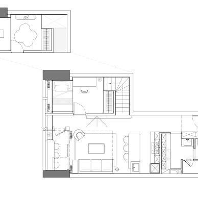 把60平的loft打造成小别墅_1620625338_4439294