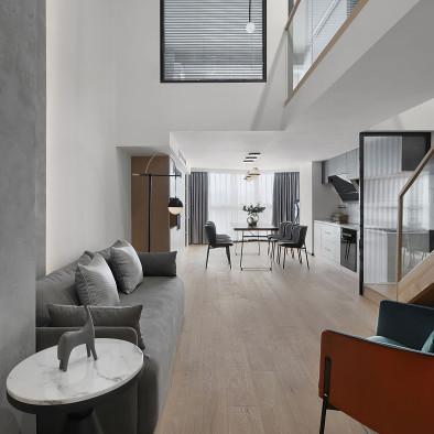 爆改90㎡复式公寓,老房华丽变身世外桃源