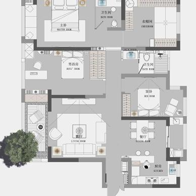 大作空间设计| 《城堡中的插画师》_1620800888_4440866