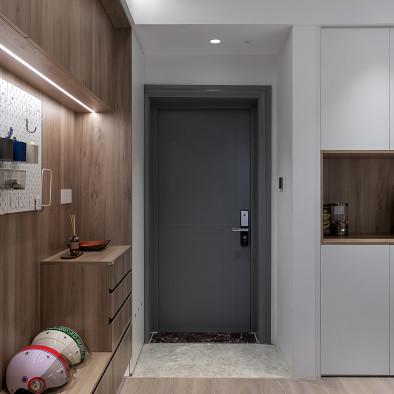 126平三房两厅,超好用的简约风居家设计