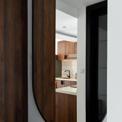北冥设计丨74m²清爽简约Loft公寓