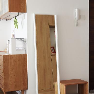 轻体积储物的现代日式小家,幸福满满~_1626837265_4490801