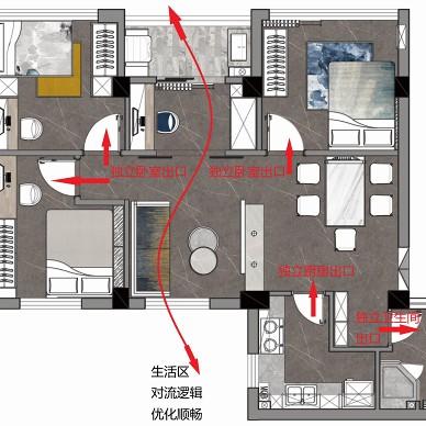 85㎡紧凑三房改造,空间一下就变大了_1629876687_4519252