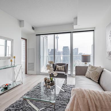 时尚简约公寓,高级感和生活感并存_1630654471_4528634